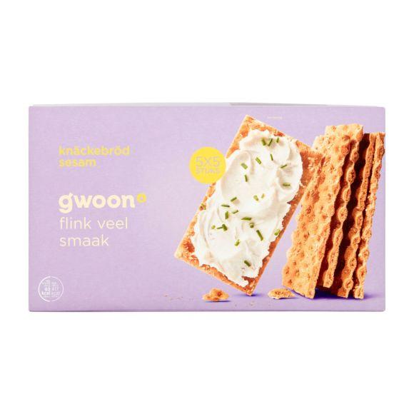 g'woonKnackebrood sesam product photo