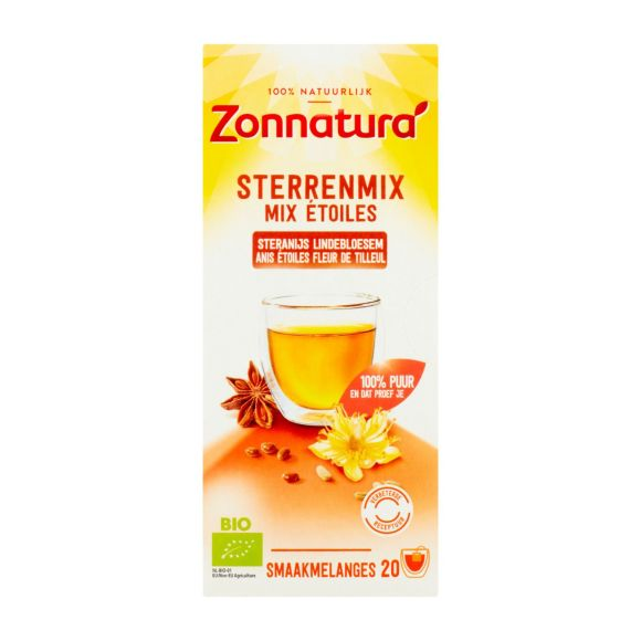 Zonnatura Biologische sterrenmix thee product photo