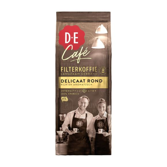 Douwe Egberts D.E Café delicaat rond filterkoffie product photo