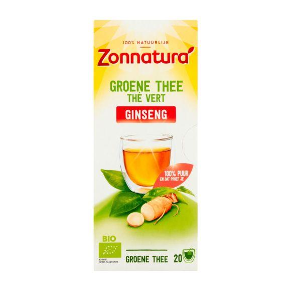 Zonnatura Groene thee ginseng product photo