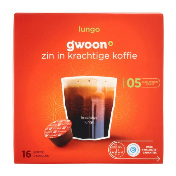 g'woonDolce Gusto cups lungo product photo