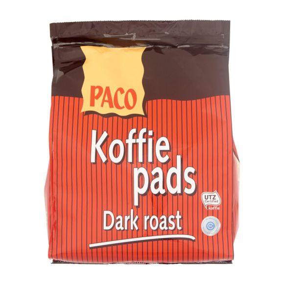 Paco Koffiepads dark roast product photo