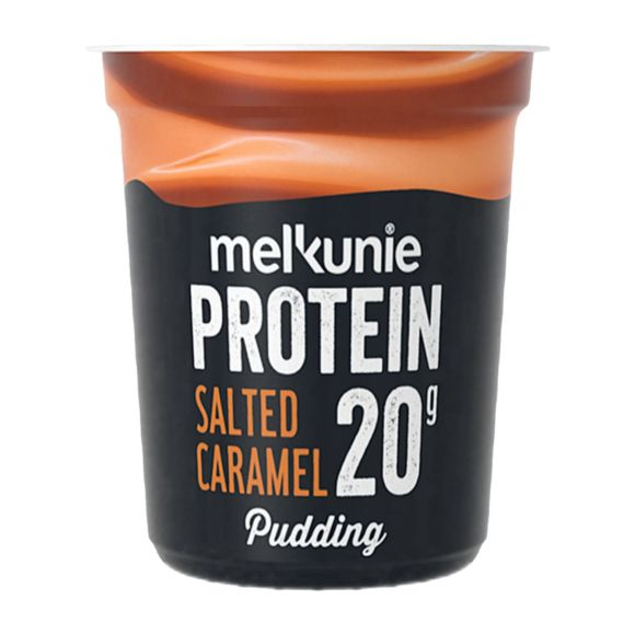 Melkunie Protein pudding caramel product photo