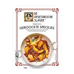 Vegetarische Slager geroockte speckjes product photo