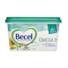 Becel Omega 3 plus margarine met visolie kuip product photo