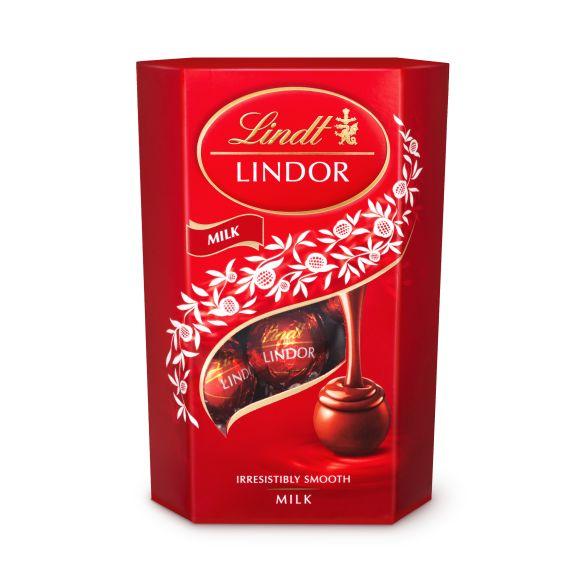 Lindt Lindor melk product photo