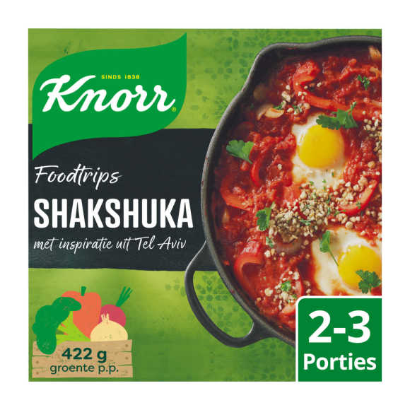 Knorr Wereld gerechten shashuka product photo