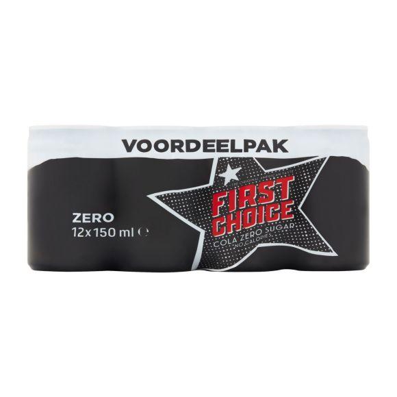 First Choice Cola zero mini 12x150ml product photo