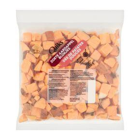 Aardappelblokjes zoet product photo