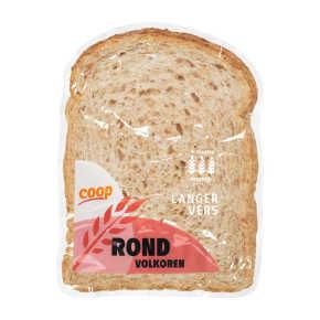 Rond volkoren brood half product photo