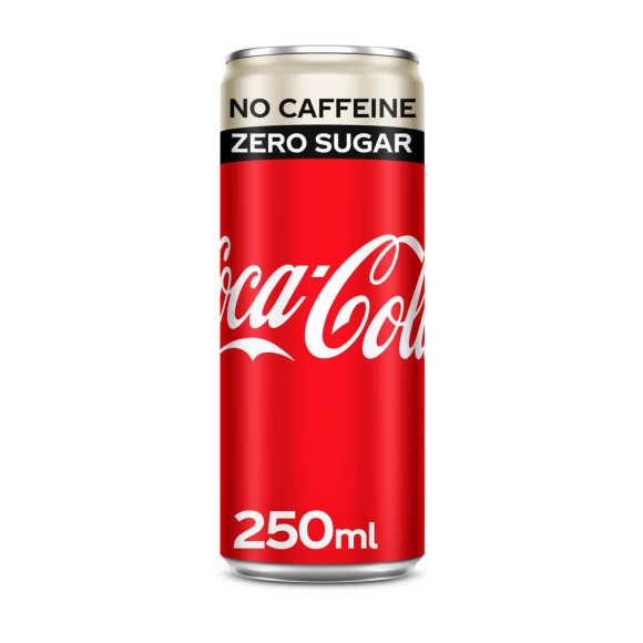 Coca-Cola Zero sugar cafeïnevrij product photo