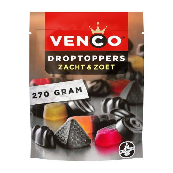 Venco Droptoppers zacht zoet product photo