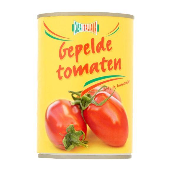 Casa Italiana Tomaten heel gepeld in sap product photo