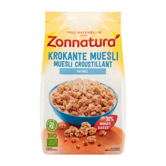Zonnatura Krokante muesli naturel product photo