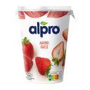 Alpro Yoghurt variatie aardbei product photo
