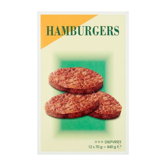 Coop Hamburgers voorgegaard product photo