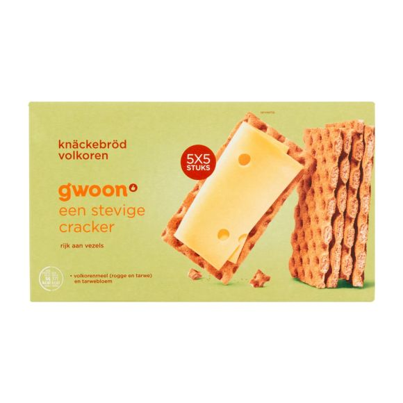 g'woonKnackebrood volkoren product photo