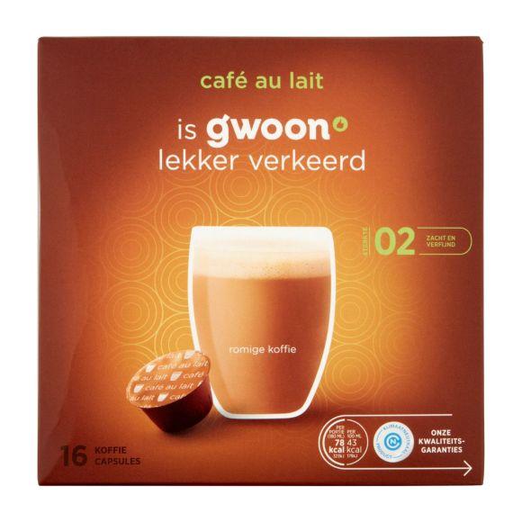 g'woonDolce Gusto cups café au lait product photo