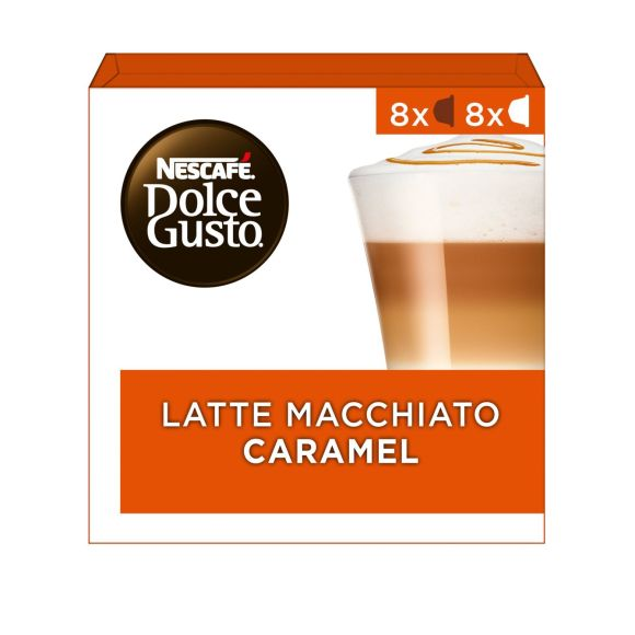 Nescafé Dulce Gusto Latte macchiato caramel product photo