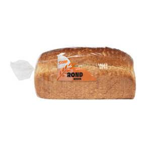 Rond bruin brood heel product photo
