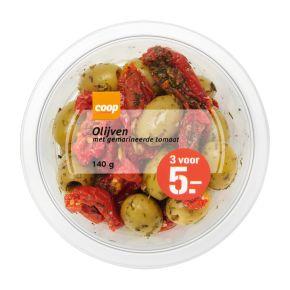 Coop Tapas olijven zongedroogde tomaat product photo