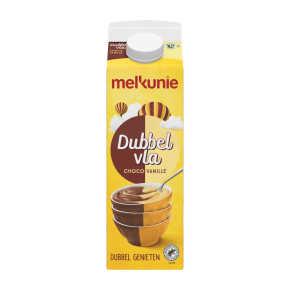 Melkunie Dubbelvla Choco Vanille 1 L product photo