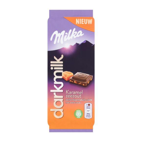 Milka Dark milk karamel zeezout product photo