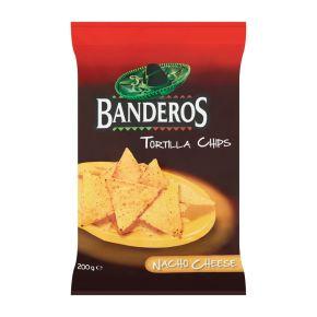 Banderos Tortilla chips cheese product photo