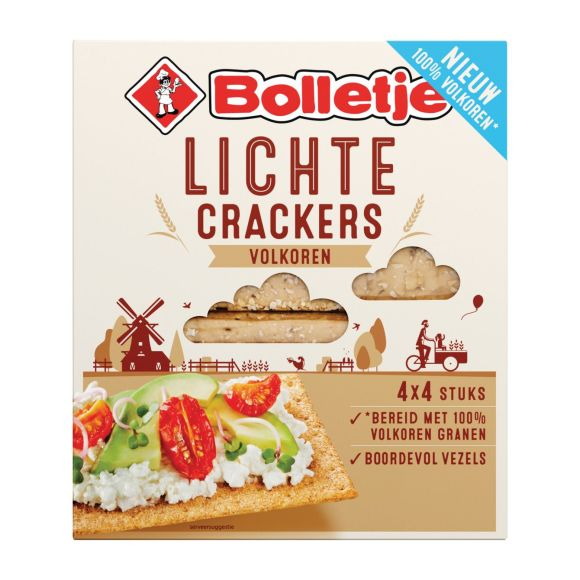 Bolletje Lichte cracker volkoren product photo
