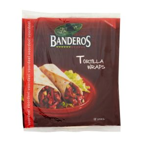 Banderos Tortilla wraps original product photo