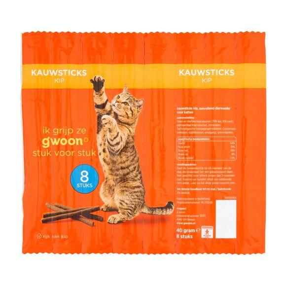 g'woon Kauwstick kat kip product photo