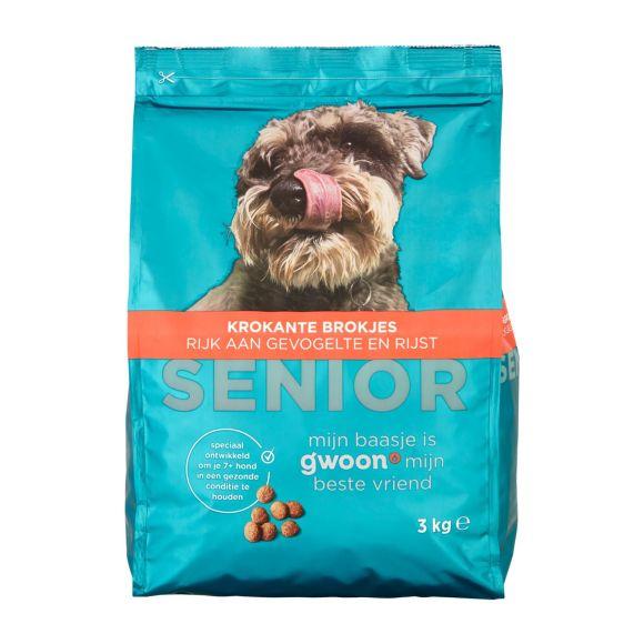 g'woon Brok premium senior hond product photo