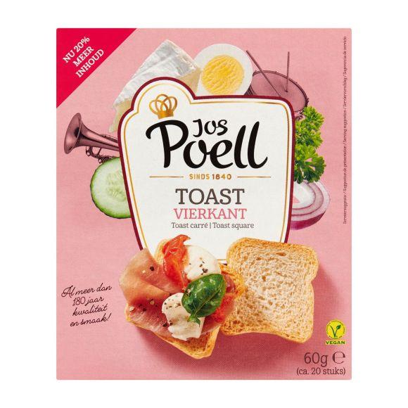 Jos Poell Toast vierkant product photo