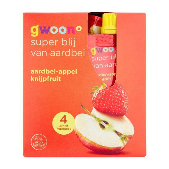 g'woon Knijpfruit appel-aardbei product photo