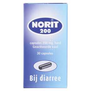 Norit Diarreeremmers Capsules 30 st product photo
