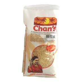 Chan's Parboiled langgraan rijst product photo