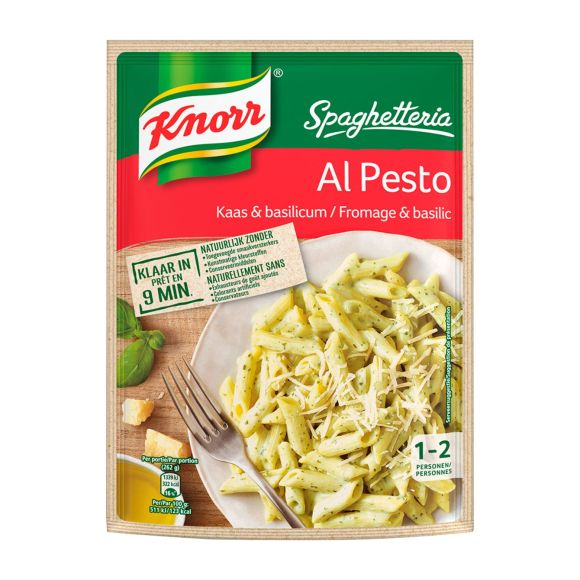 Knorr Spaghetteria Al Pesto Pastagerecht product photo