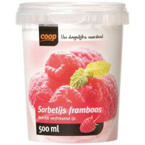 Coop Sorbetijs Framboos product photo