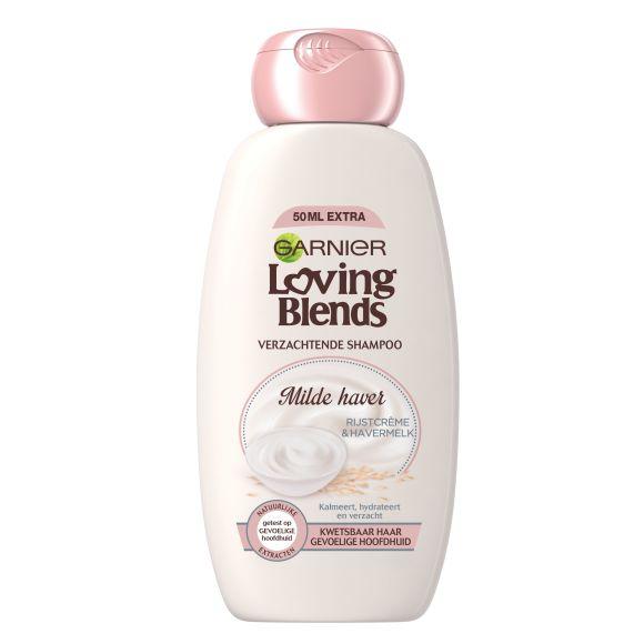 Garnier Loving Blends Shampoo milde haver product photo