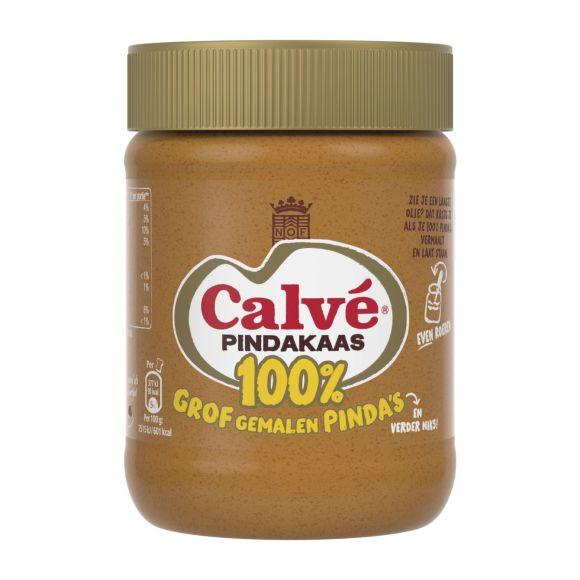 Calvé Pindakaas 100% met nootjes product photo