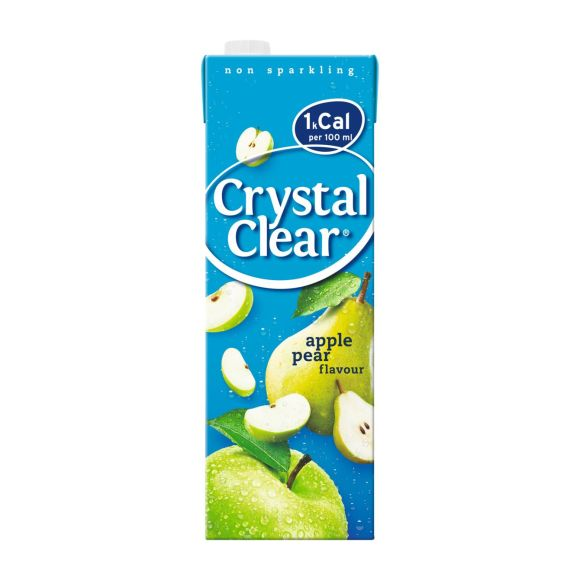 Crystal Clear Appel peer product photo