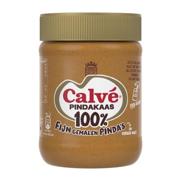 Calvé Pindakaas 100% product photo
