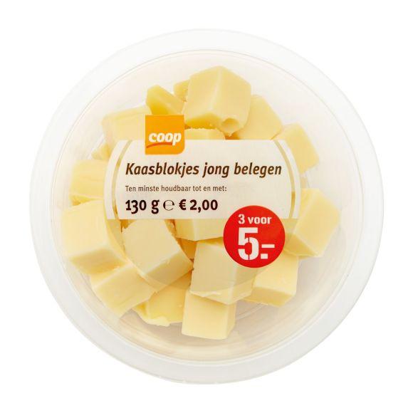 Coop Tapas jong belegen kaasblokjes product photo