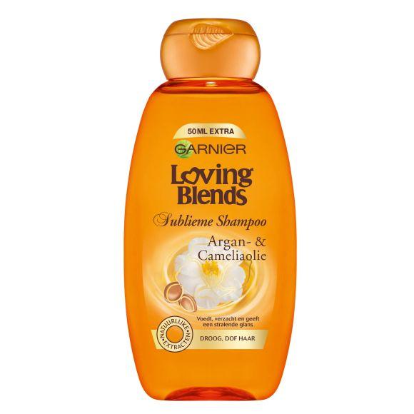 Garnier Loving Blends Shampoo argan & camelia olie product photo