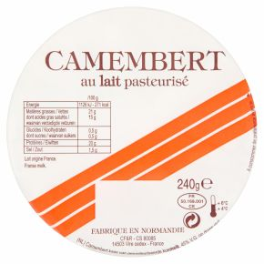 Bar Orange Camembert product photo