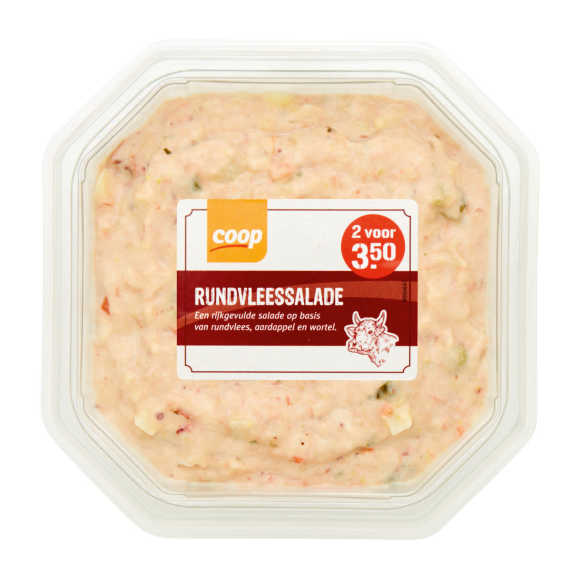 Rundvlees salade product photo