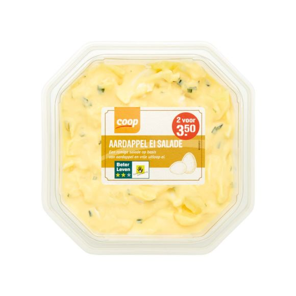Aardappel ei salade product photo