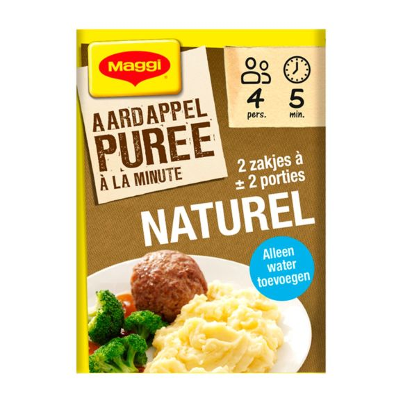 Maggi Puree a la minute naturel product photo