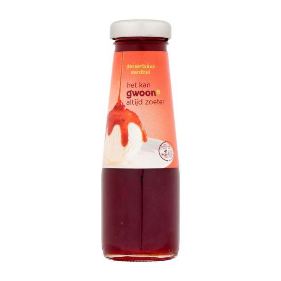 g'woon Dessertsaus aardbeien product photo