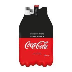 Coca-Cola Zero sugar multipack product photo